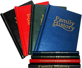 UKARS research your past and present your family tree and history in a hard back album