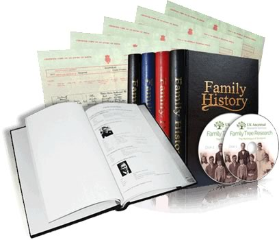 Family History Research Heirloom Package