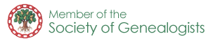 Member of the Society of Genealogists